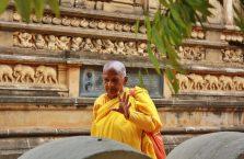 Sri Lanka - kobieta mnich.
