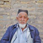 Uzbekistan - stary mężczyzna.