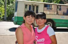 Kazachstan - młode dziewczyny.