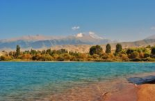 Kirgistan - jezioro Issyk- Kol.