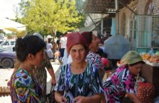 Kazachstan - na bazarze.