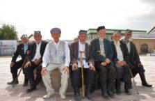 Kazachstan - klub seniora w Turkistanie.
