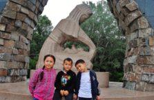 Kazachstan - dzieci.