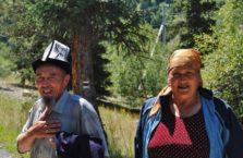 Kirgistan - stare małżeństwo.