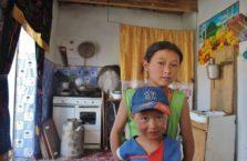 Tadżykistan - rodzeństwo.