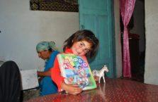Tadżykistan - dziewczynka.