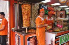 Turkey - a surprised kebab seller.