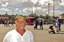 Turkey - a sailor in Bosphorus.