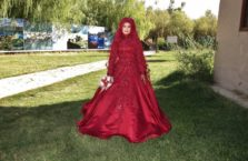 Turkey - a Muslim bridesmaid.