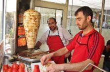 Turkey - a kebab seller.