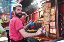 Turkey - kebab seller.