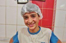 Turkey - a boy.