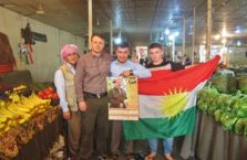Iraqi Kurdistan - with Kurdish patriots.