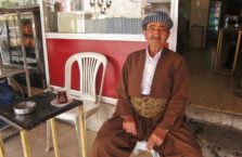 Iraqi Kurdistan - a grandpa in Dohuk in a traditional outfit.
