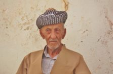 Iraqi Kurdistan - old Kurdish man.