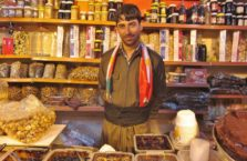 Iraqi Kurdistan - seller of sweets.