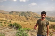 Iraqi Kurdistan - a man who I met on the road.