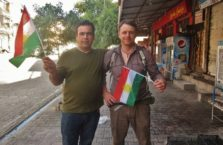 Iraqi Kurdistan - with a Kurdish patriot.