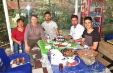 Iraqi Kurdistan - dinner with Kurds.