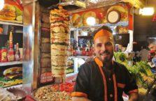 Iraqi Kurdistan - young kebab man.