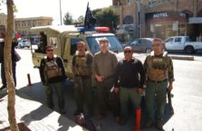 Iraqi Kurdistan - with a military police.