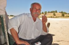Iraqi Kurdistan - man with a cigarette.