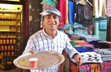 Turkey - tea man.